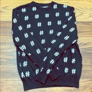 #Hashtag Sweater